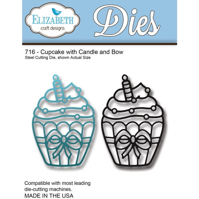 ECD - Cupcake with Candle and Bow