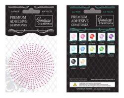 Premium Adhesive Gemstones - Bubblegum