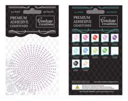 Premium Adhesive Gemstones - Wisteria