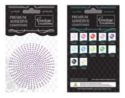 Premium Adhesive Gemstones - Amethyst