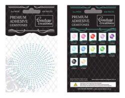Premium Adhesive Gemstones - Powder Blue