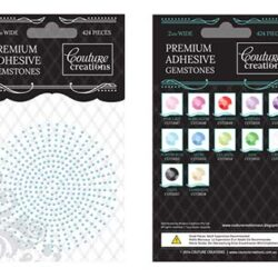 Premium Adhesive Gemstones - Powder Blue