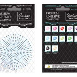 Premium Adhesive Gemstones - Azure