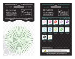 Premium Adhesive Gemstones - Jade
