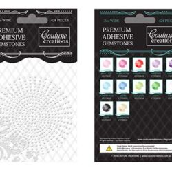 Premium Adhesive Gemstones - Crystal