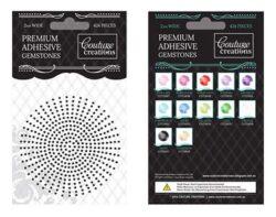premium Adhesive Gemstones - Onyx