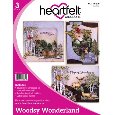 Heartfelt Creation Woodsy Wonderland Collection Card Kit