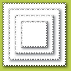 Memory Box- Postage Square Layers