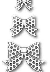 Memory Box Polkadot Bows