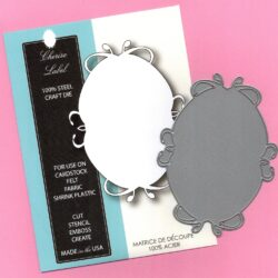 Memory Box - Cherise Label Die