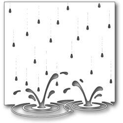 Memory Box - Splashing Puddles Die