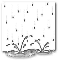 Memory Box - Splashing Puddles Die