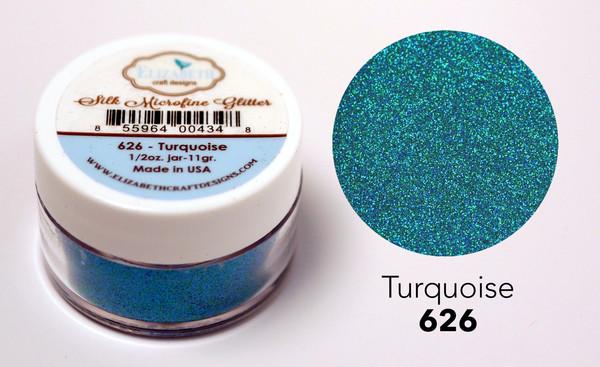 Silk Microfine Glitter - Turquoise